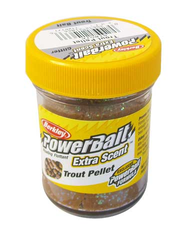 Power Bait Glitter Trout Pellet