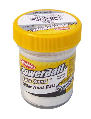Power Bait Glitter white